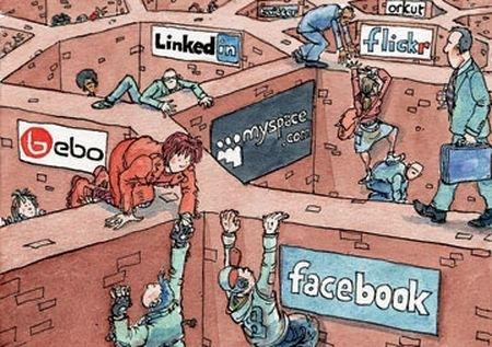¿Cómo califican los usuarios a Twitter y las demás Redes Sociales?