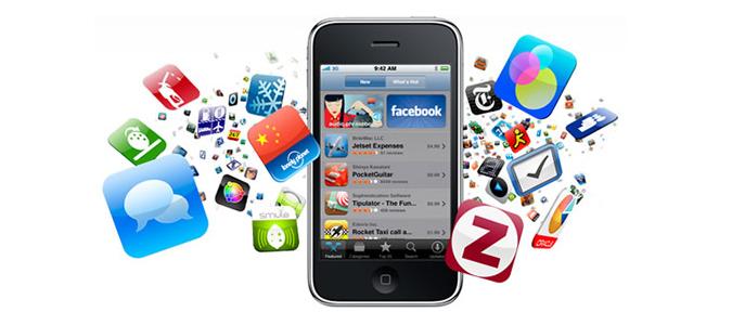 Las aplicaciones móviles desafían la internet y la televisión