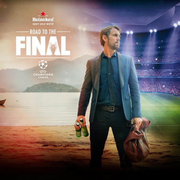 Heineken y su ejemplar campaña para la UEFA Champions League