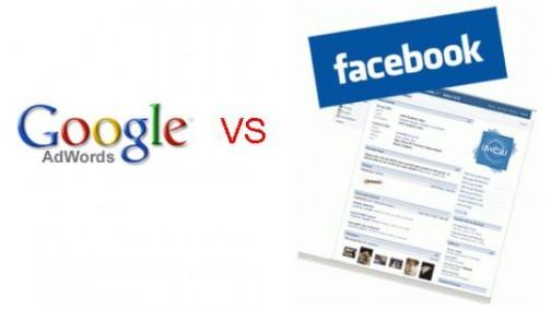 Google-Adword-VS-Facebook-Ad
