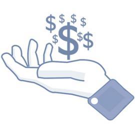 Facebook y la publicidad en una infografía