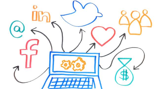 14 herramientas para gestionar sus redes sociales. Infografía