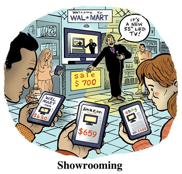 Comercio electrónico pone a competir a las tiendas físicas