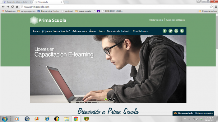 Prima Scuola: Formación virtual que se destaca