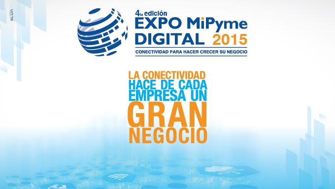 """""""Conectividad para hacer crecer su negocio"""", el lema de Expo Mipyme 2015"""