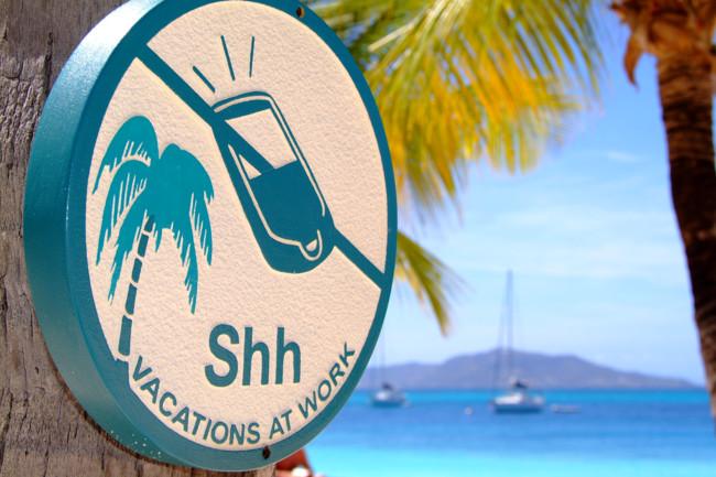 Usuarios de Internet se desconectan en vacaciones