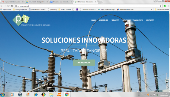 Proactive and Innovative Services, un sitio web innovador y tangible