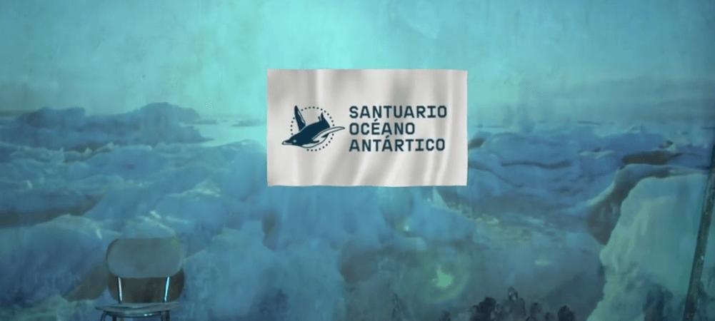 Nace la bandera del Océano Antártico. Vídeo